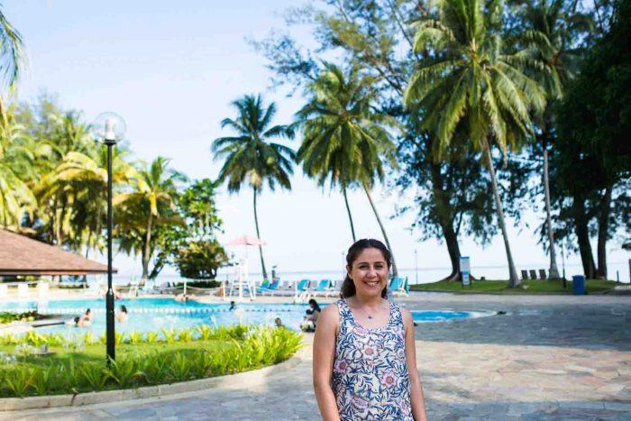 Damai beach Resort in Santubong, Sarawak Borneo (Malaysia)