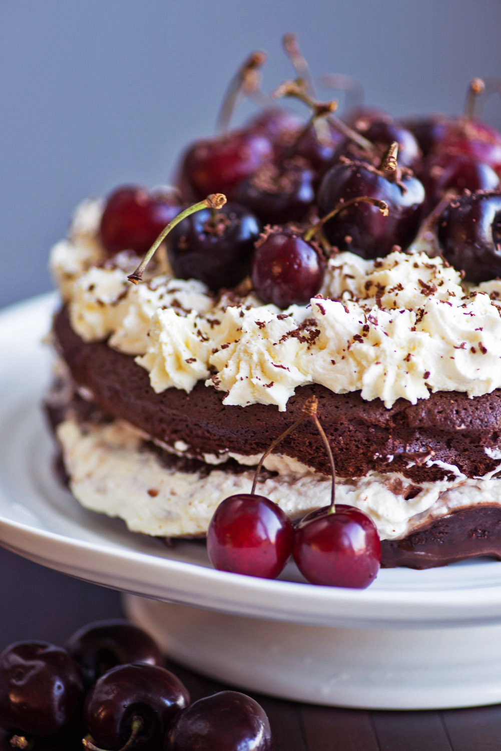 Ingredients And Recipe For Black Forest Cake