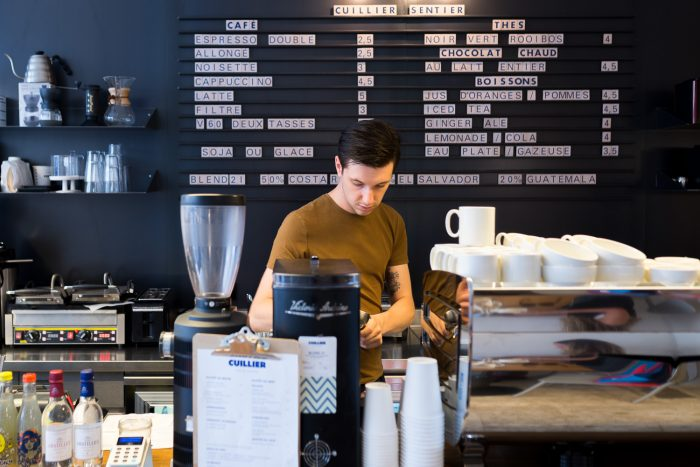Cuillier Sentier - Top 8 Coffee Shops in Paris | A Speciality Coffee Guide
