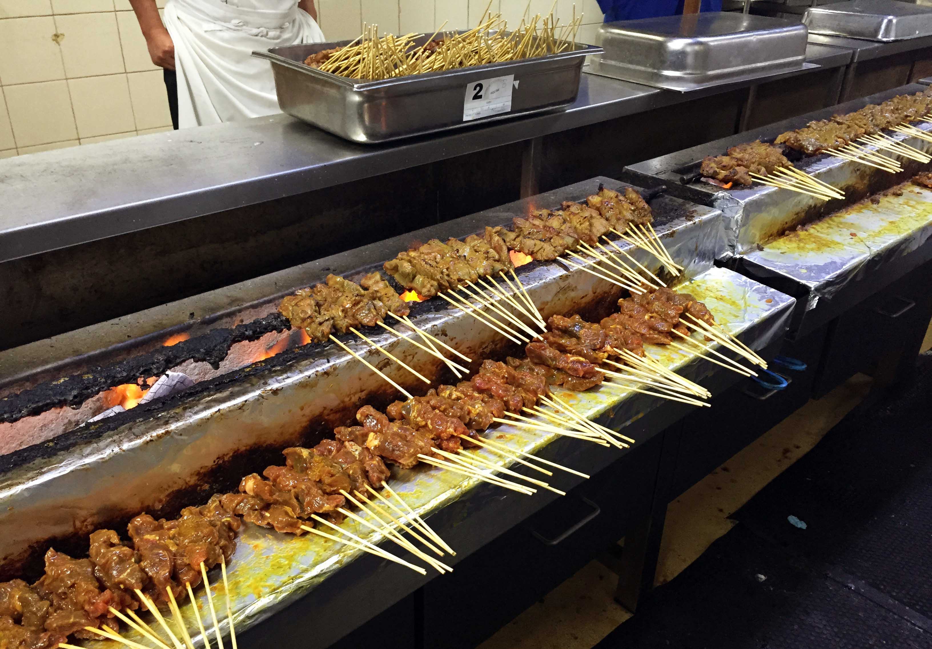 Malaysia Airlines Chicken Satay