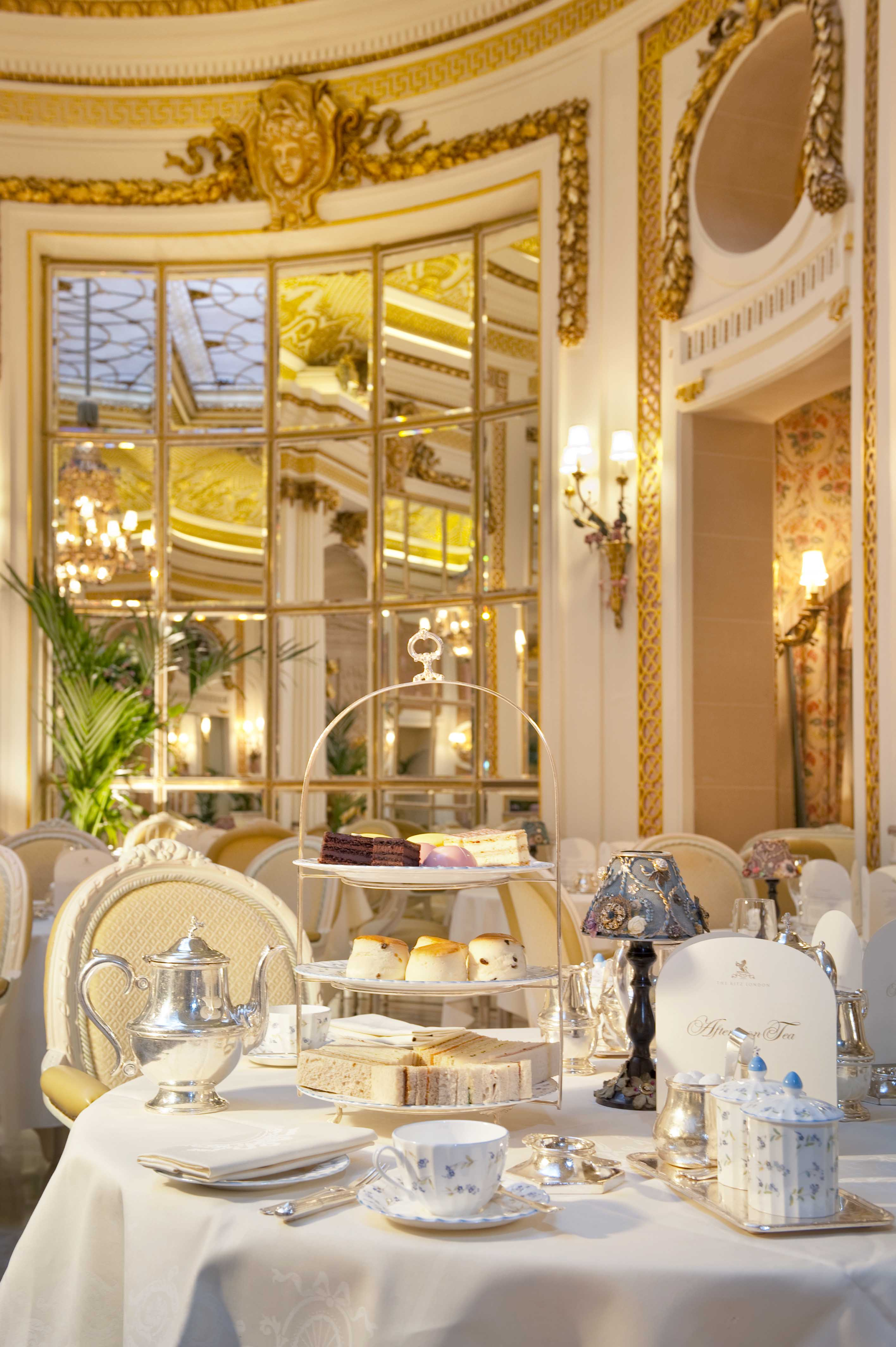 Afternoon Tea The Ritz Palm Court