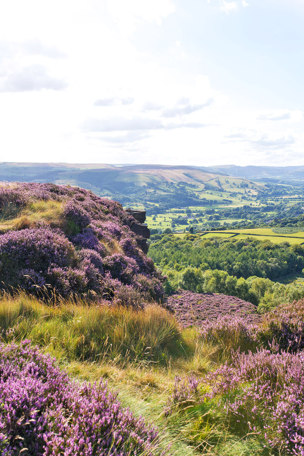 Walking in the Peak District National Park
