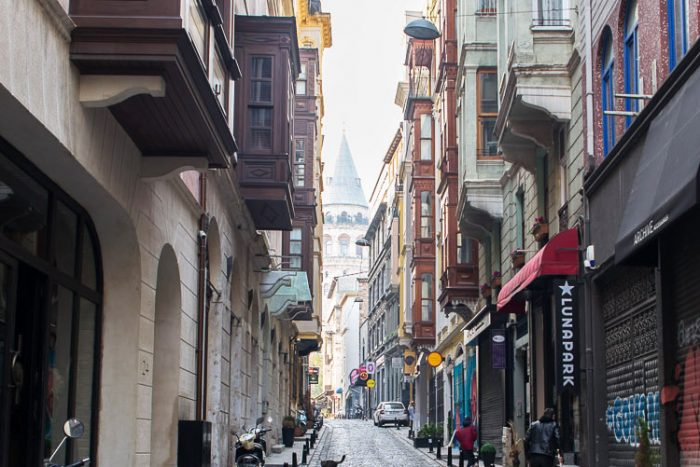 With its cool cafes and boutiques, Galata is one of Istanbul's trendiest neighbourhoods