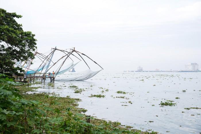 Chinese fishing nets in Fort Kochi | Five Epic Things To Do in Kerala #mondomulia