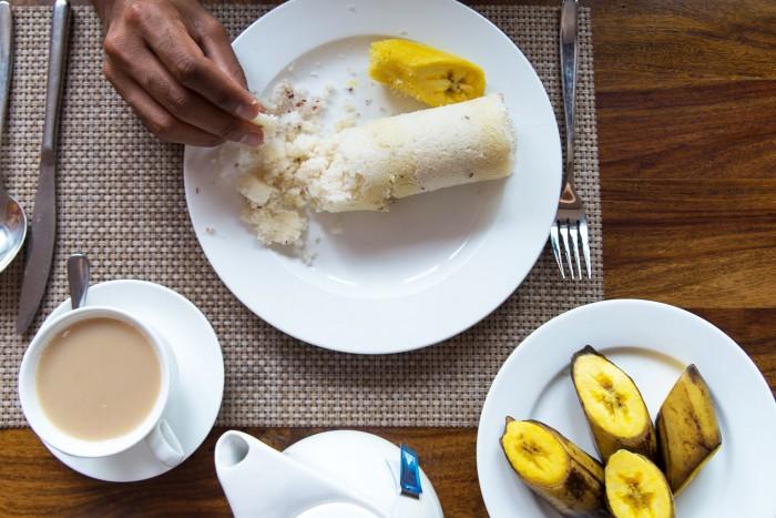 Ghee-Puttu-Breakfast-Kerala