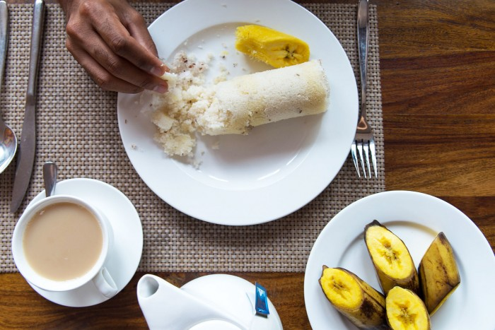 Ghee-Puttu-Breakfast-Kerala