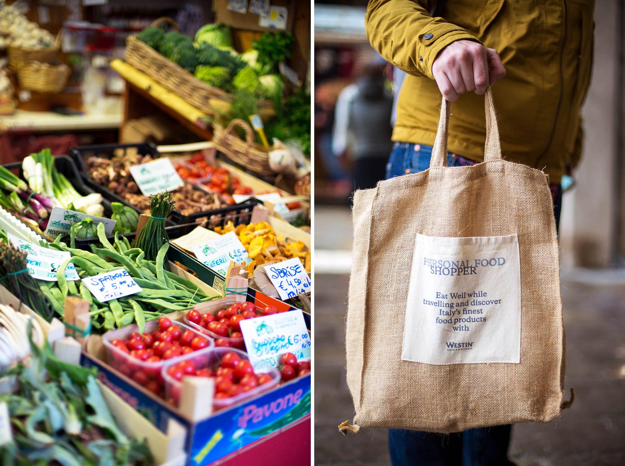 Rialto market in Venice, Italy. Westin Europa and Regina in Venice Personal Food Shopper Tour-Rialto-Market-1