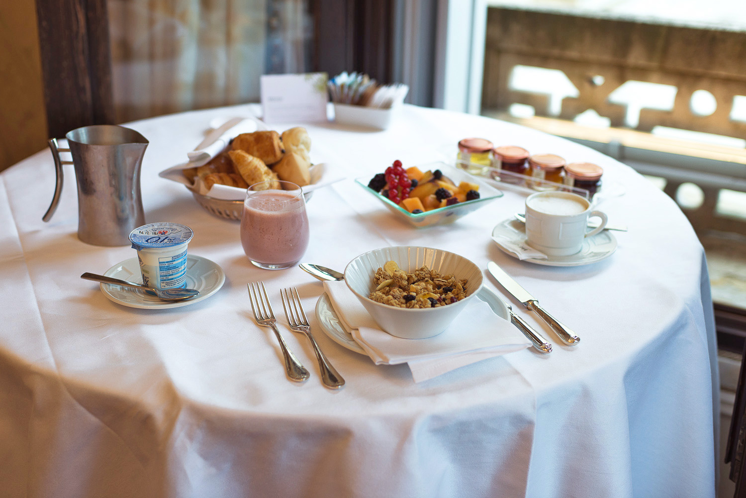 Venetian Hotel Room Service Breakfast Menu