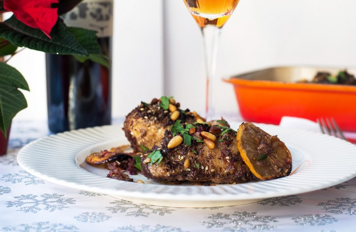 Roasted Chicken with Za'atar, Sumac and Lemon - recipe by Yotam Ottolenghi