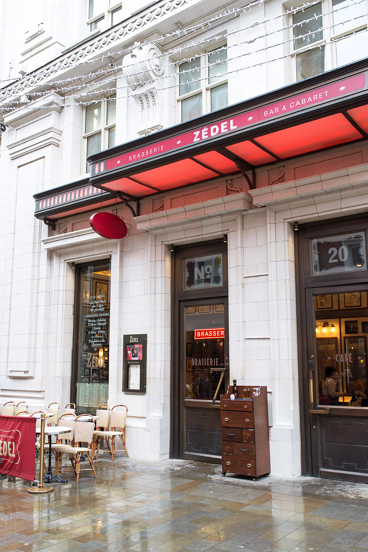 Brasserie Zédel in London