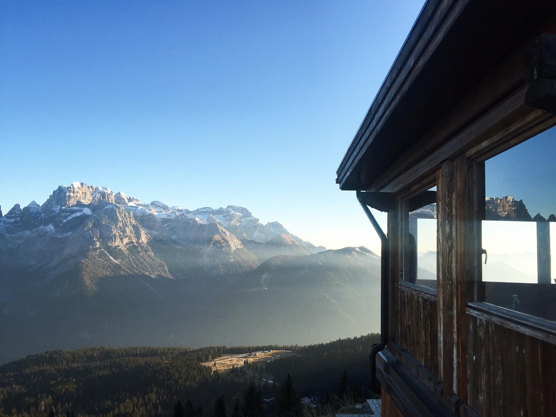 Ski in Trentino: Cinque Laghi, Madonna di Campiglio.