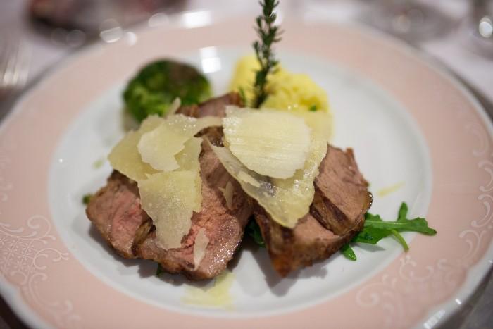 Dinner at Hotel Miramonti in Madonna di Campiglio