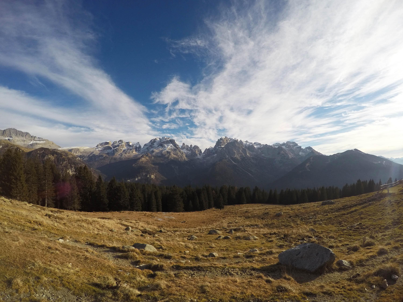 Ski in Trentino. Brenta Dolomites and Madonna di Campiglio.