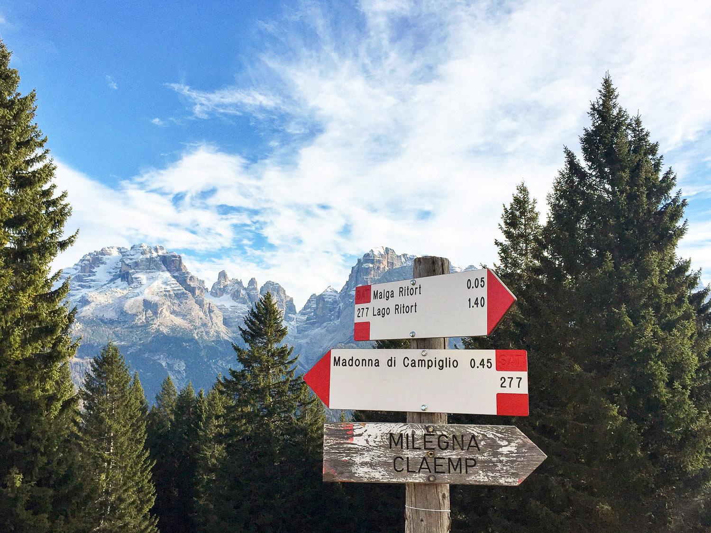 Madonna di Campiglio, Trekking in Cinque Laghi