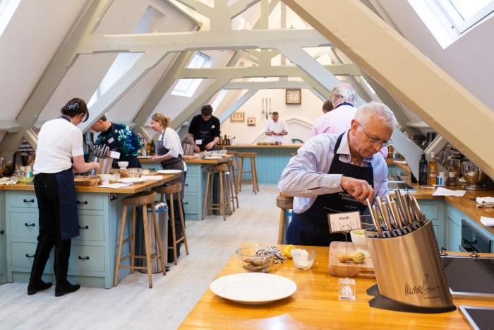 Chef Michel Roux Jr. Premier Cooking Experience at Cactus Kitchens, London