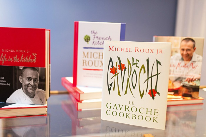 Michel Roux Jr Premiere cooking experience in London