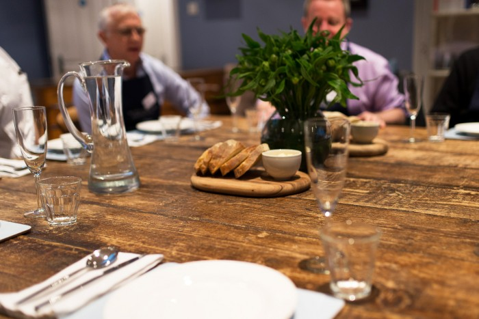 Michel Roux Jr premier experience at Cactus Kitchens in London