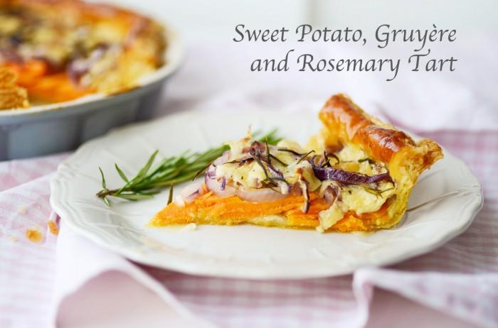 Sweet Potato, Gruyere & Rosemary Tart - Recipe by Mondomulia