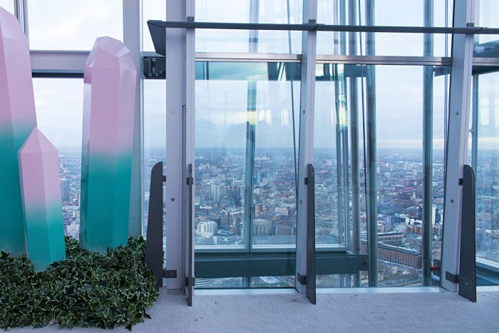 The Height of Winter installation, The Shard, London