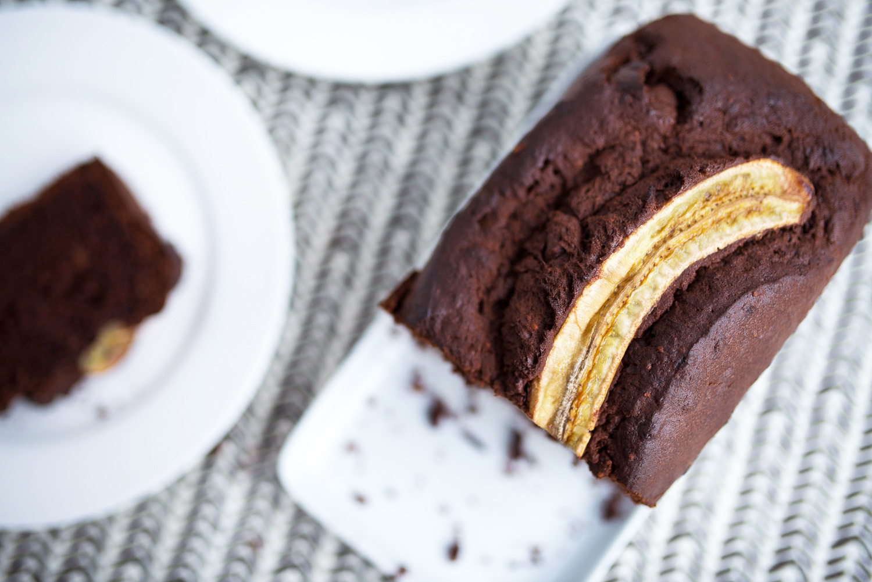 Chocolate Peanut Butter Banana Bread - Mondomulia