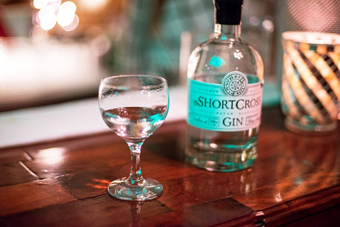 Shortcross Gin at APOC cocktail bar, Belfast.