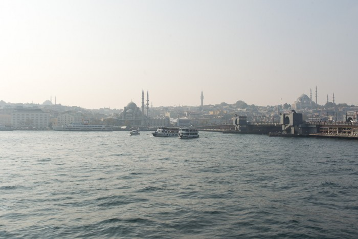 Ferry from Karakoy to Kadikoy in Istanbul