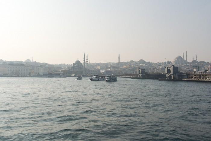 Ferry from Karakoy to Kadikoy in Istanbul