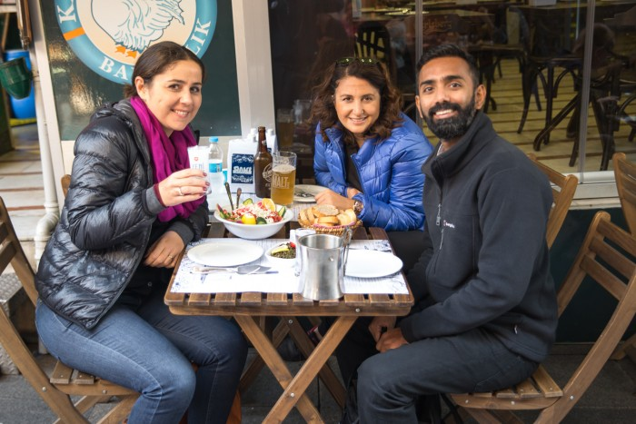Lunch with locals at Kadikoy in Istanbul, Turkey