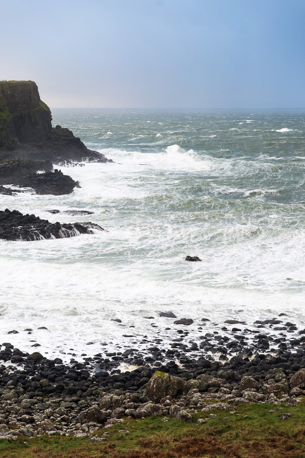 world famous Giant's Causeway, Ireland's first World Heritage Site.