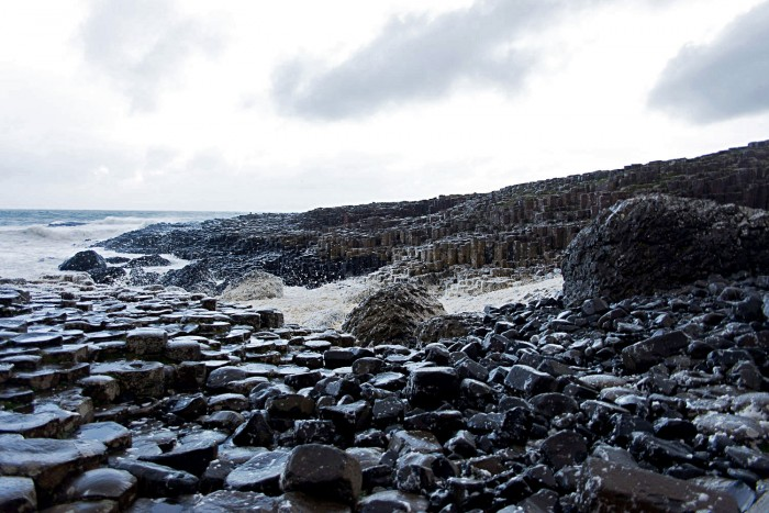 The world famous Giant's Causeway, Ireland's first World Heritage Site.