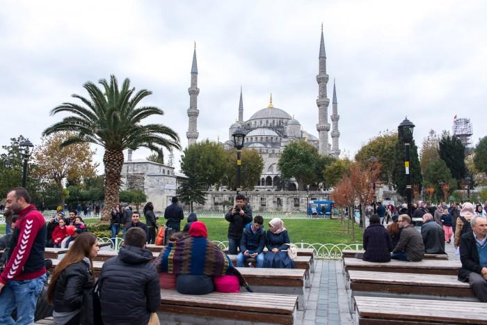 Blue Mosque, Istanbul Turkey