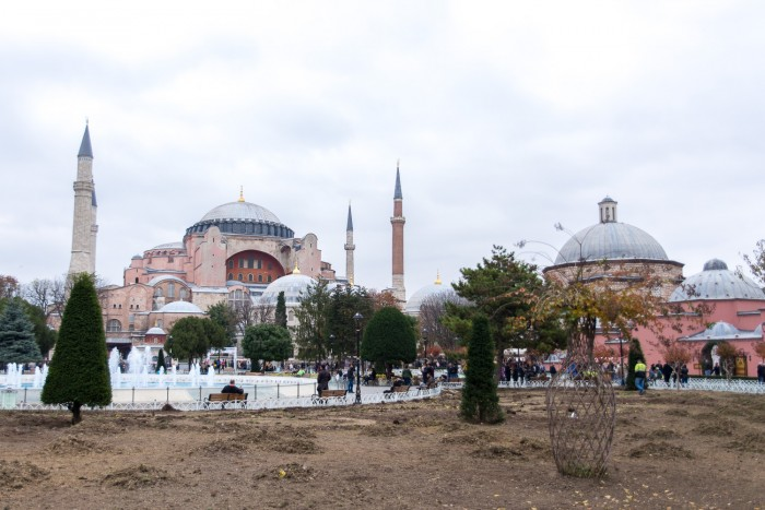 Hagia Sophia , Istanbul Turkey