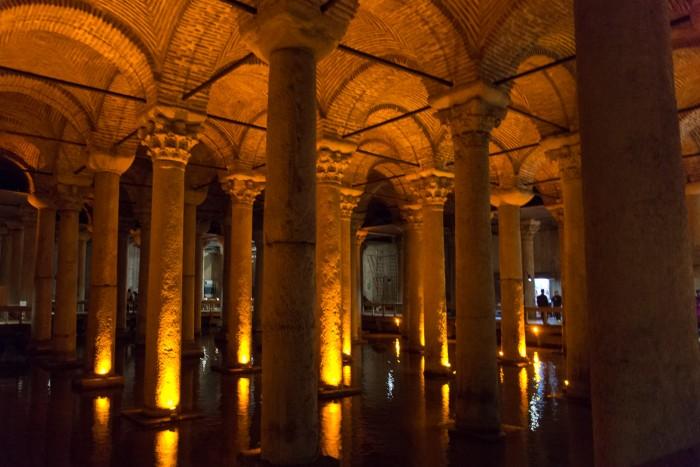 Basilica Cistern, Istanbul Turkey