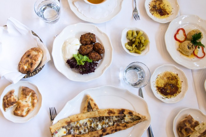 Turkish lunch at Nar Lokanta, Istanbul Turkey