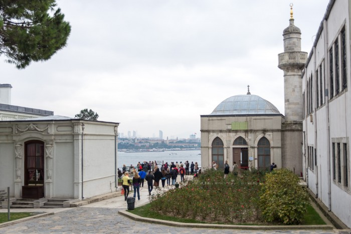 View from Topkapi Palace, Istanbul Turey