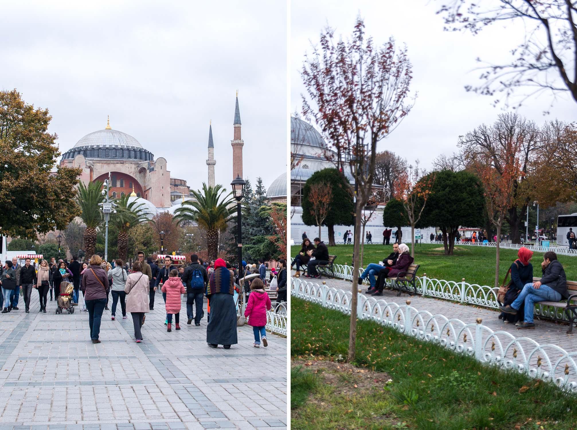 Hagia Sophia museum in Istanbul Turkey