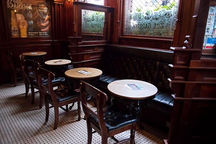 The Garrick Bar, for a traditional Irish pub in Belfast