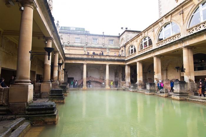 Roman Baths in Bath, England