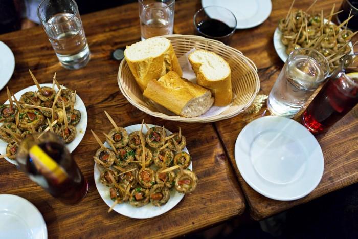 Meson del Champinon: Devour Madrid: Tapas, Taverns & History Tour