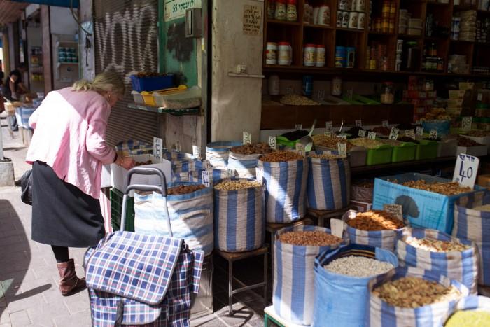 Levinsky Market. Tel Aviv, Israel.
