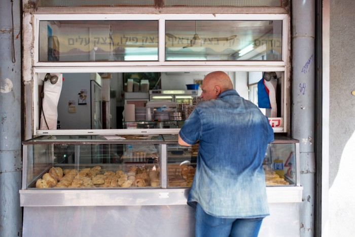 Penso Bakery in Levinsky Market. Tel Aviv, Israel.