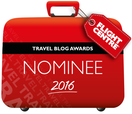 Flight Centre Travel Blogger Nominee 2016
