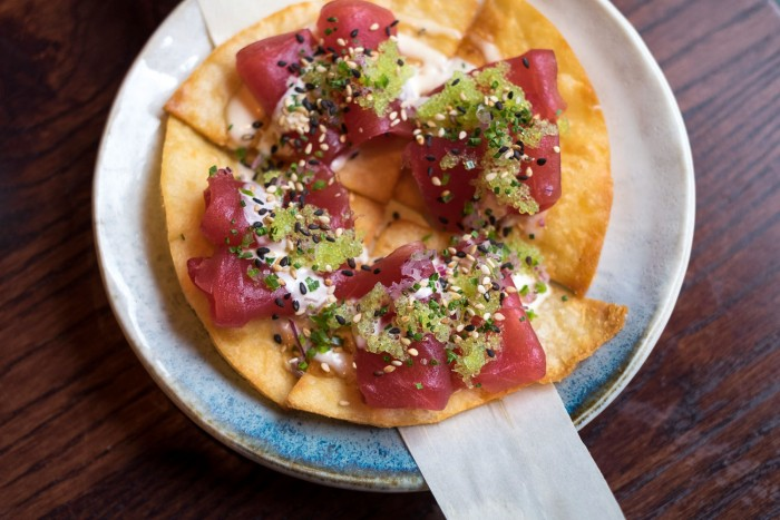 Kurobuta, a contemporary Japanese bar & grill in Marble Arch London, founded by Australian Chef Scott Hallsworth