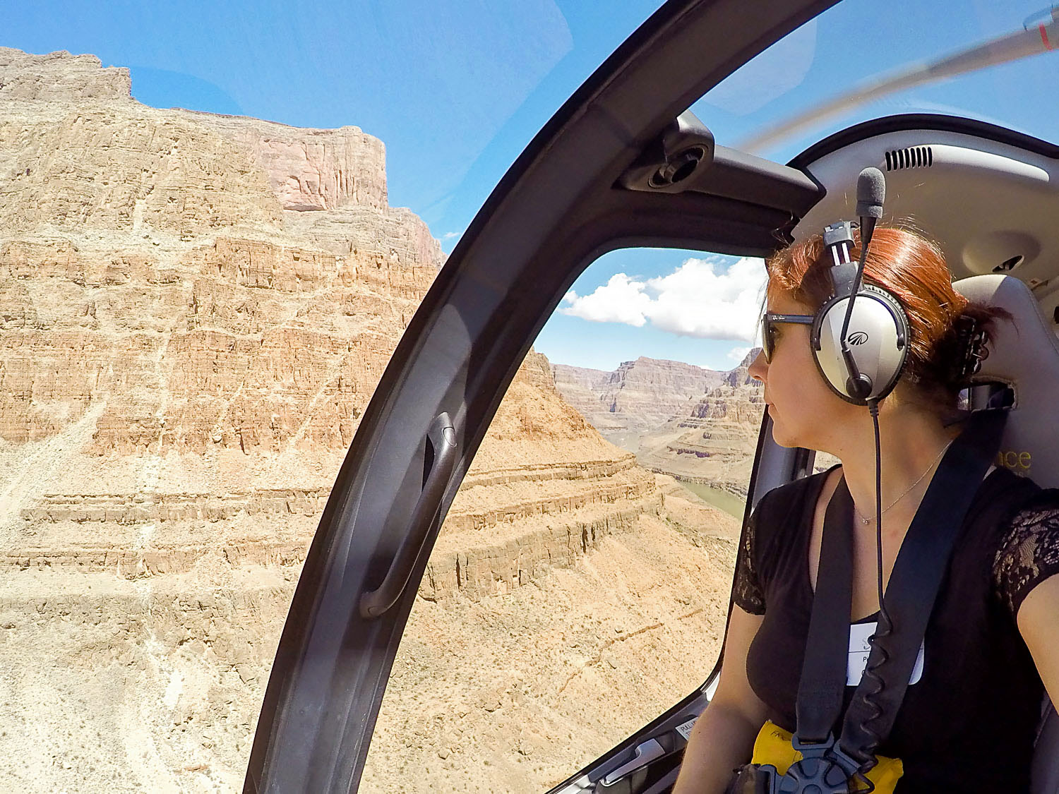 Helicopter ride to the Grand Canyon in Arizona