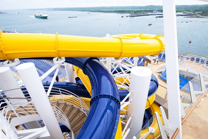 Royal Caribbean Harmony of the Seas - Water Slides