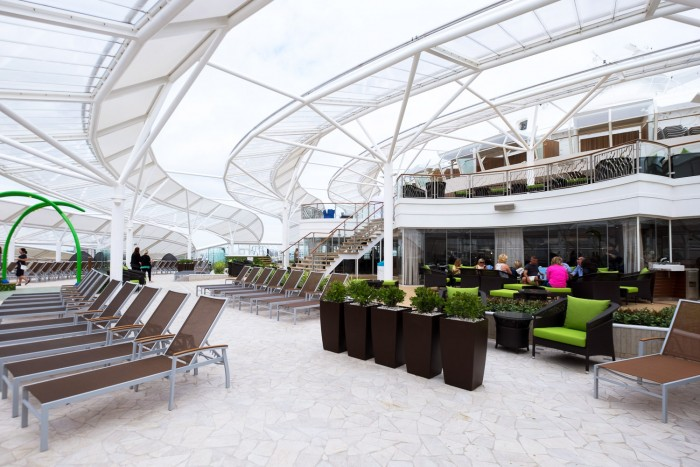 Royal Caribbean Harmony of the Seas - Solarium