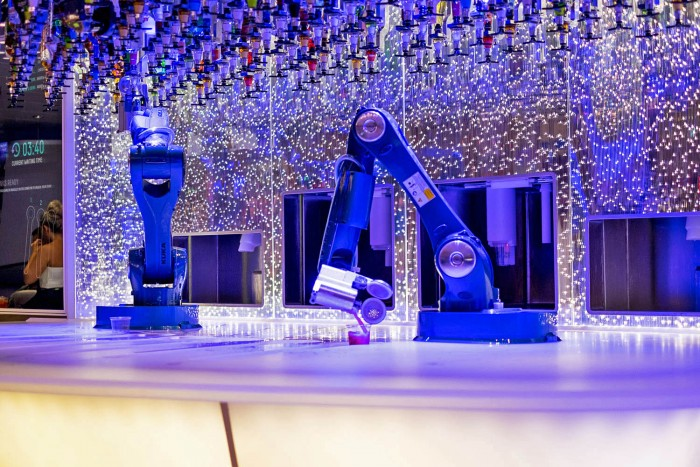 Royal Caribbean Harmony of the Seas - Bionic Bar