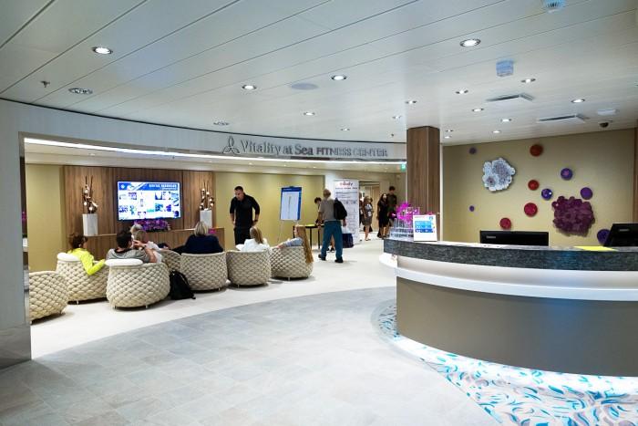 Royal Caribbean Harmony of the Seas - Vitality At Sea Spa
