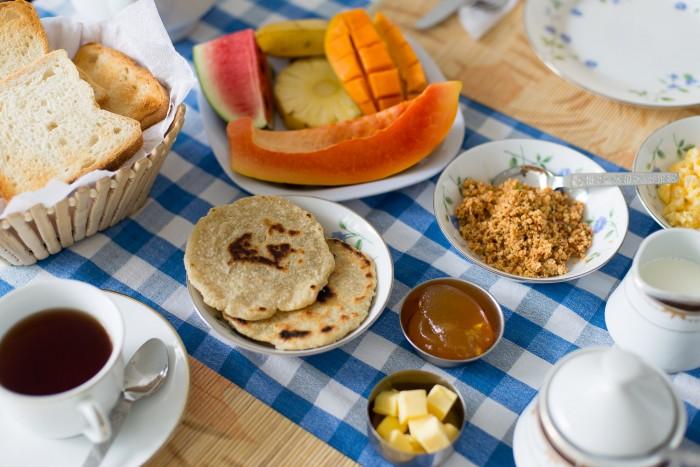 Breakfast in Sri Lanka-1