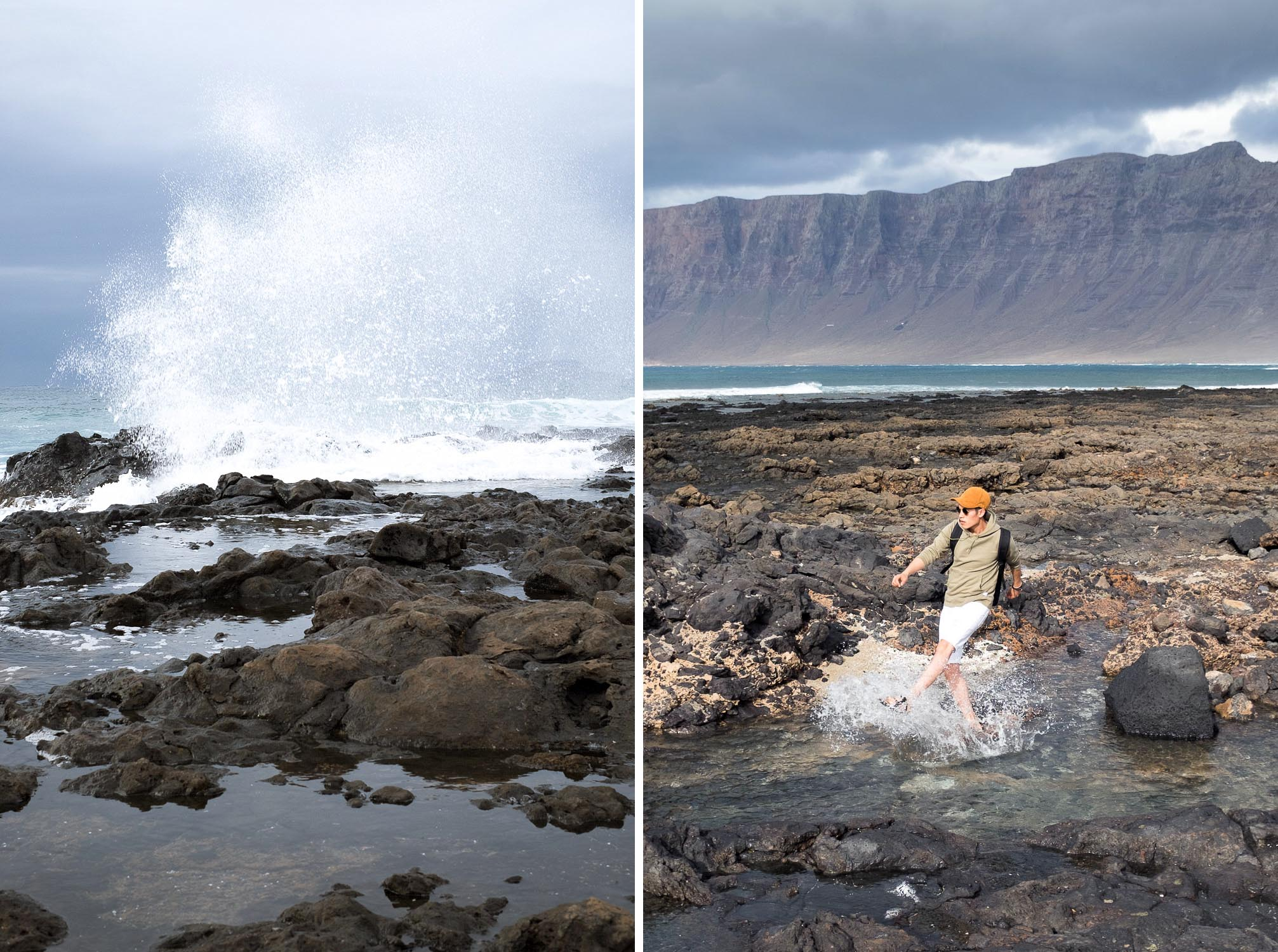 Caleta de Famara Lanzarote Canary Islands